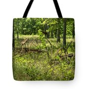 Hayrake And Cutter 2 Tote Bag