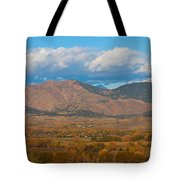 Haystack Autumn View Tote Bag