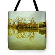 Hazy Autumn Afternoon Tote Bag