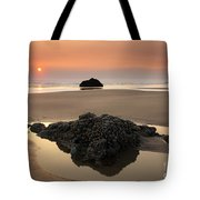 Hazy Oregon Sunset Tote Bag