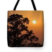 Hazy Sunset Tote Bag