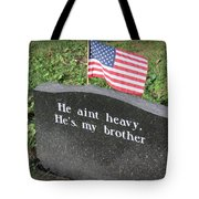 He Aint Heavy Tote Bag