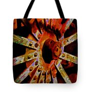He Spoke Of Colours And Textures Tote Bag