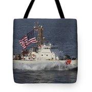 He U.s. Coast Guard Cutter Adak Tote Bag