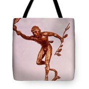 He Who Saved The Deer - Native American Youth Detail Tote Bag