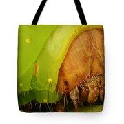 Head Of Polyphemus Caterpillar Tote Bag