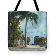 Headed To Hutchinson Tote Bag by Trish Tritz