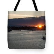 Heading Out Of Town Tote Bag