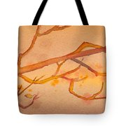 Heading South Watercolor Painting  Tote Bag