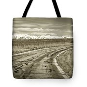 Heading West 2 Tote Bag