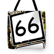 Heading West On Route 66 Tote Bag