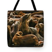 Heads Above The Rest Tote Bag