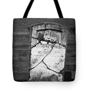 Headstone Of Lafayette Meeks Tote Bag by Teresa Mucha