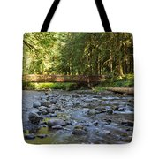 Hear The Rush Of Water II Tote Bag