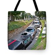 Hearses At Laurel Hill Cemetery Tote Bag
