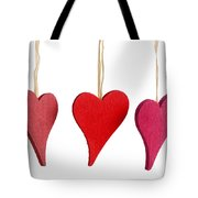 Heart Decorations Tote Bag