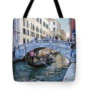 Heart In Venice Tote Bag