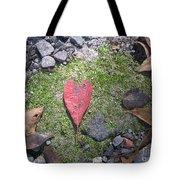 Heart Leaf Tote Bag