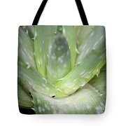 Heart Of An Aloe Tote Bag