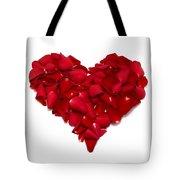 Heart Of Petals Tote Bag