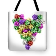 Heart Shaped Christmas Bows  Tote Bag