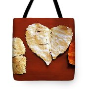 Heart Shaped Leaves Tote Bag