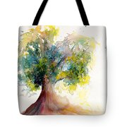 Heart Tree Tote Bag