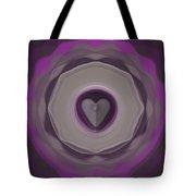 Heart Wheel Tote Bag