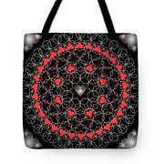 Hearts And Lace 2012 Tote Bag