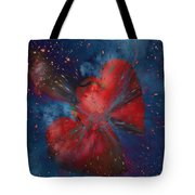 Hearts In Space Tote Bag