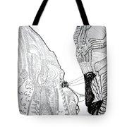 Hearts Speak Tote Bag