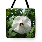 Hearty Hibiscus Tote Bag