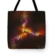 Heat Of Passion Tote Bag