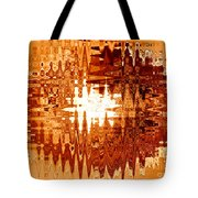 Heat Wave - Abstract Art Tote Bag