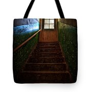 Heaven Is Closed Tote Bag by Nathan Wright