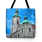 Heavenly Blues				 Tote Bag