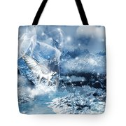 Heavenly Interlude Tote Bag by Lourry Legarde