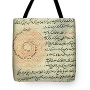 Heavenly Spheres, Islamic Astronomy Tote Bag by Science Source