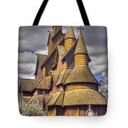 Heddal Stave Church  Tote Bag