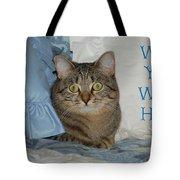 Heidi Cat Miss You Tote Bag