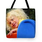Helena On The Slide Tote Bag