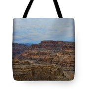 Helicopter View Of The Grand Canyon Tote Bag