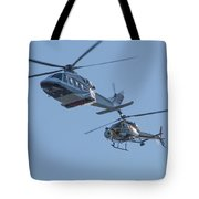 Helicopters Tote Bag