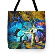 Hello And Bye Tote Bag