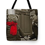 Hello Mr Bear Tote Bag