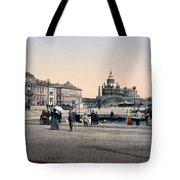 Helsinki Finland - Senate Square Tote Bag