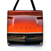 Hemi Orange 1971 Dodge Challenger Tote Bag