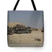 Hemtt Trucks Carry Combat Modified Tote Bag