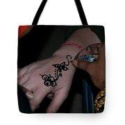 Henna Hand Tote Bag