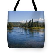 Henry Fork Of The Snake River Tote Bag